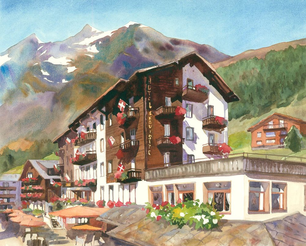 Romantik Hotel Beau Site in Saas Fee, Switzerland