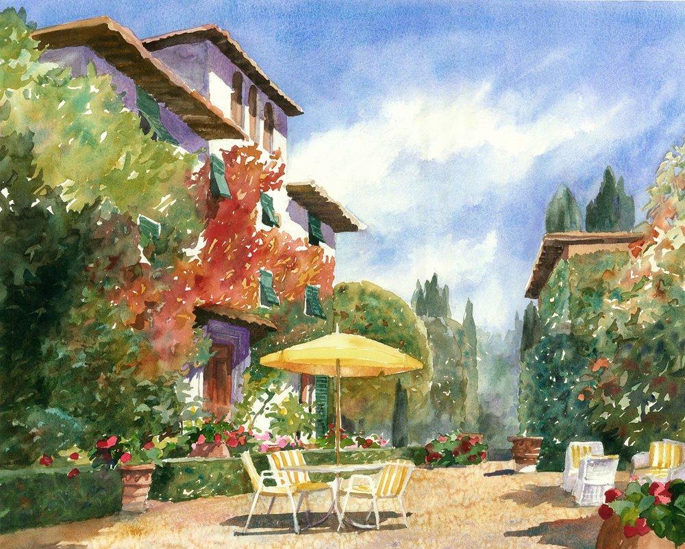 Villa le Barone, Chianti