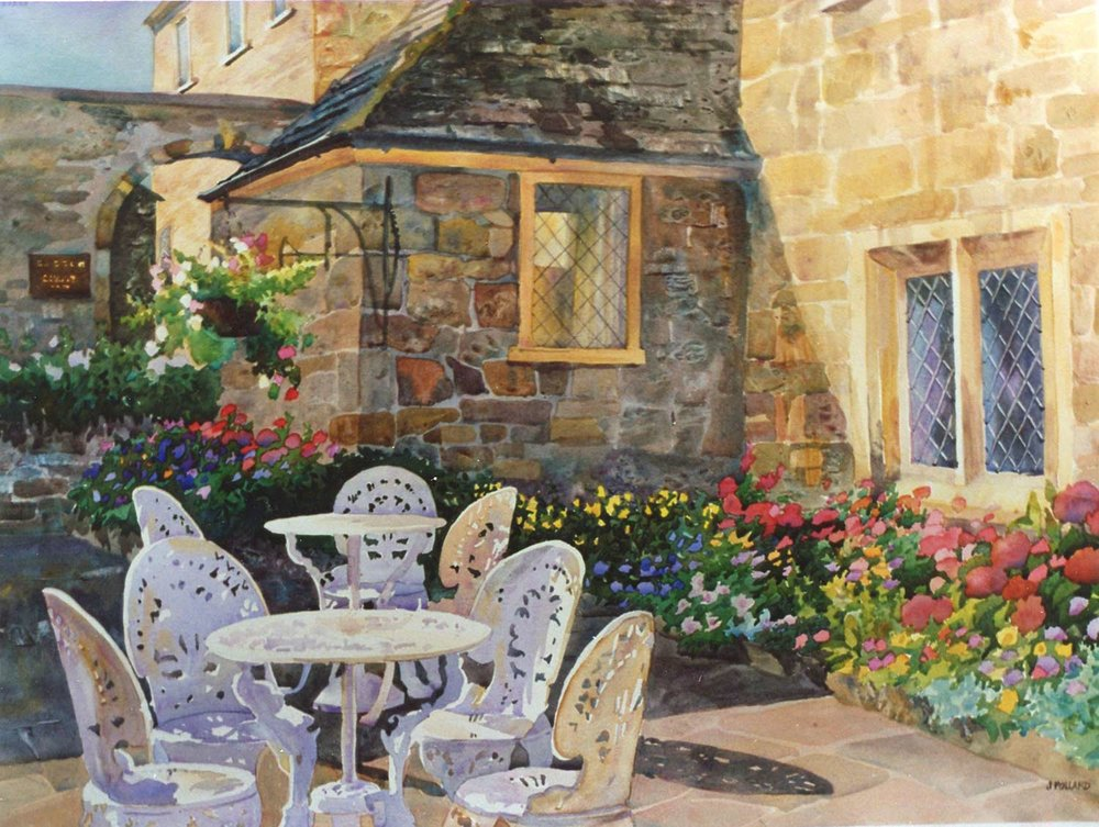 Courtyard in the Cotswolds