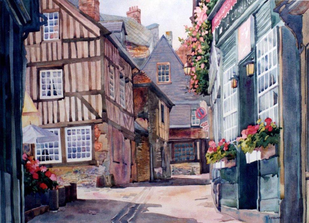 Normandy Architecture, HOnfleur
