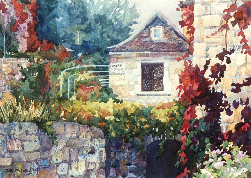 Red Ivy of St. Cirq Lapopie, Dordogne