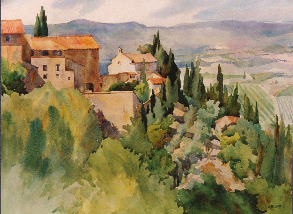 San Gimignano Hills, Tuscany