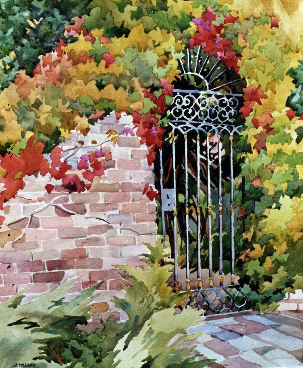 Filoli Fall Gate