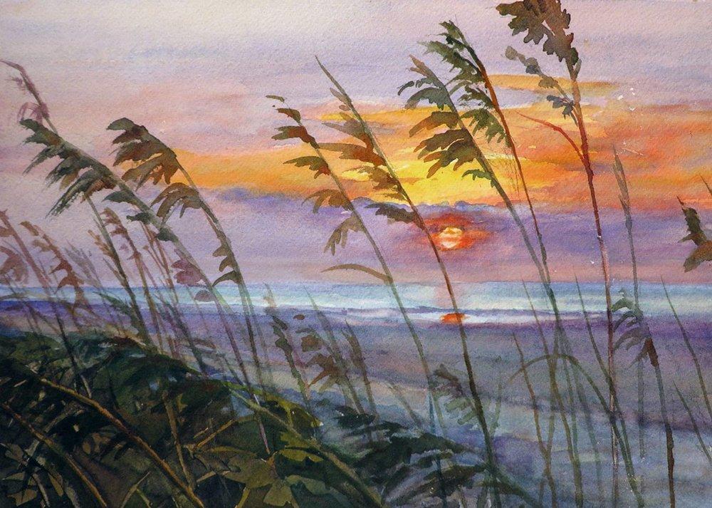 Sunrise at Isle of Palm