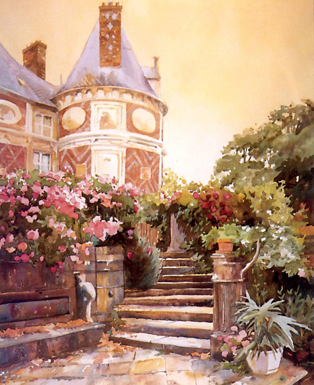 Chateau Longecourt Stair