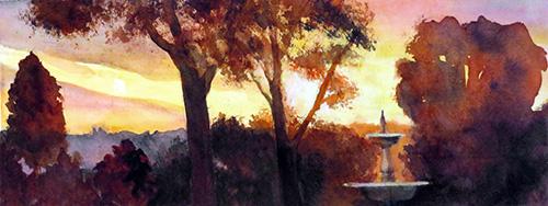 Cortona Sunset