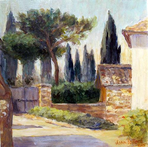 San Leolino Cypress Trees