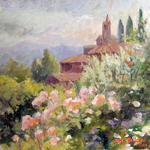 Villa le Barone Roses at San Leolino