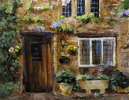 Cotswold Cottage Door
