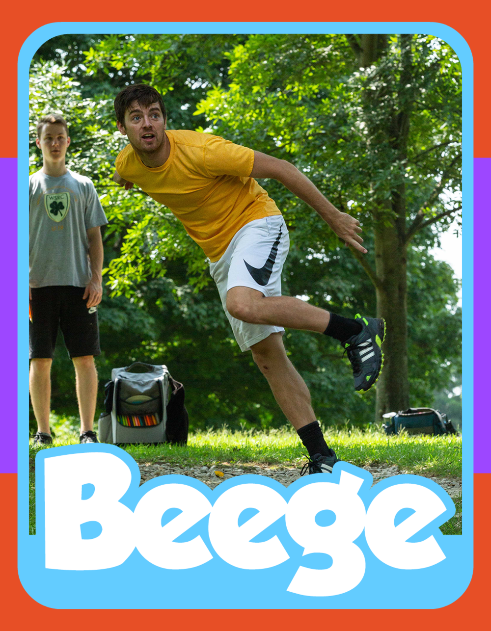 Brady Pierce - The Beege was one of the first members of Summer Flings. He started as a lefty-forehand player than decided to re-build his game from the ground up just to show people that either hand is capable of throwing a disc. He's already won a Major Tournament this year and now he's hungry for the Championship.