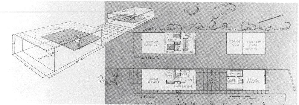 Eames House, Case Study House No. 8