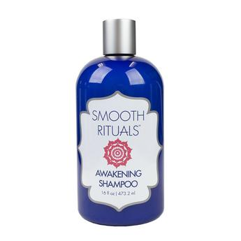 Smooth Rituals Awakening Shampoo  $38 | Gently cleanses hair and scalp with Organic Sweet Chili Pepper Extract and an exclusive alchemy of Hydrolyzed Keratin, Collagen and Silk. Together, they restore the hair and naturally preserve the results of your Smooth Rituals Keratin Treatment.