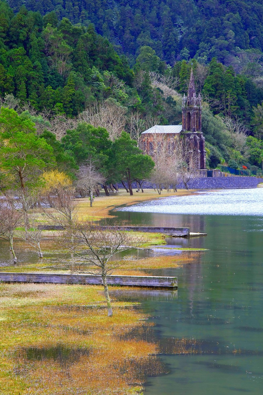 Furnas Lake, Caldeiras and Hot Springs -