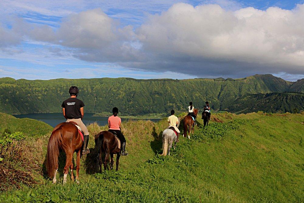 Azores Horse Riding. -