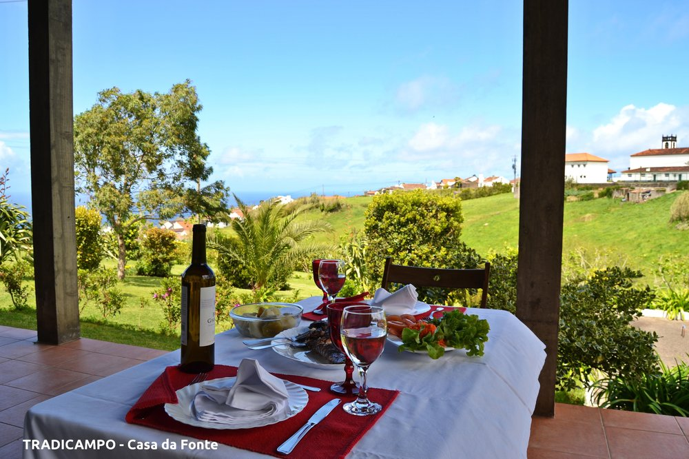 Azores Rustic Cottage land view - Azores Connections.JPG