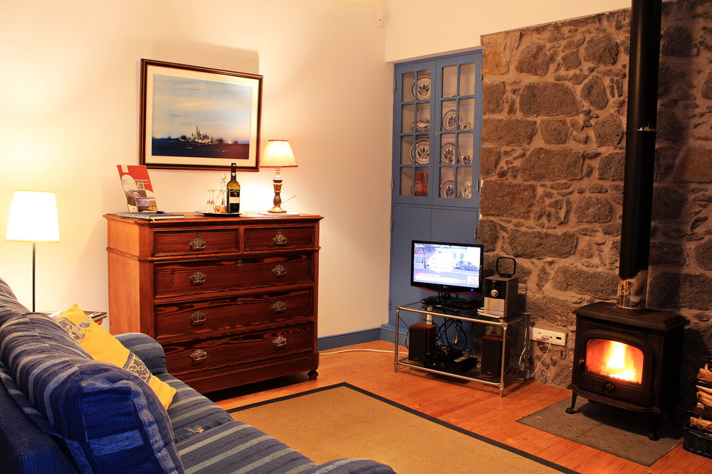 Azores Rustic Accommodation Living Room - Azores Connections.JPG