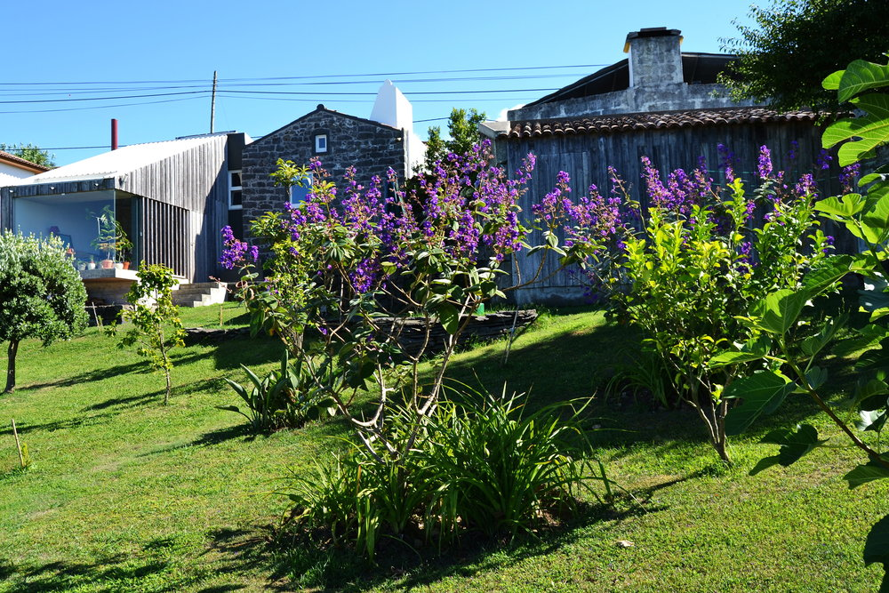 Azores Rustic Accommodation Garden - Azores Connections.JPG