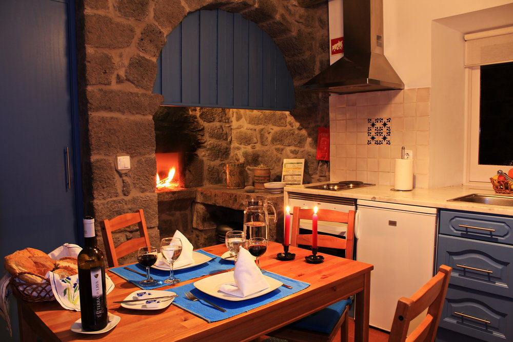 Azores Rustic Accommodation Kitchen - Azores Connections.JPG