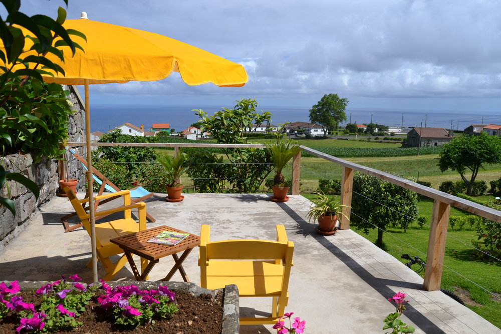 Azores Rustic Accommodation Terrace- Azores Connections.JPG