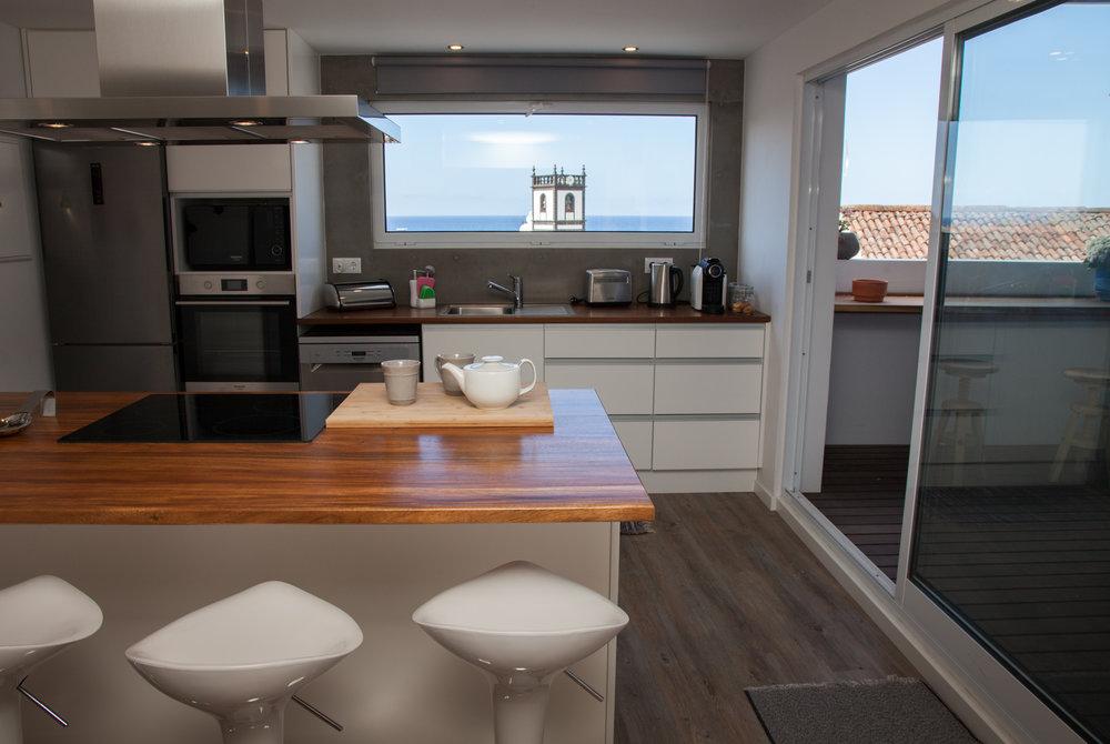 Azores Accommodation Villa Terra Kitchen - Azores Connections.jpg