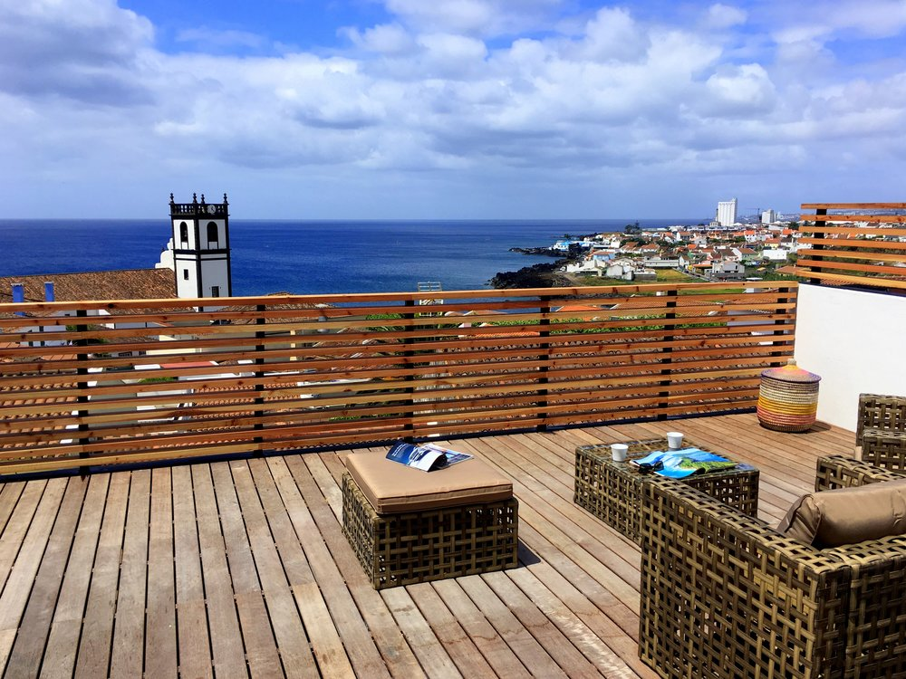 Azores Accommodation Villa Terra Private Terrace - Azores Connections.JPG