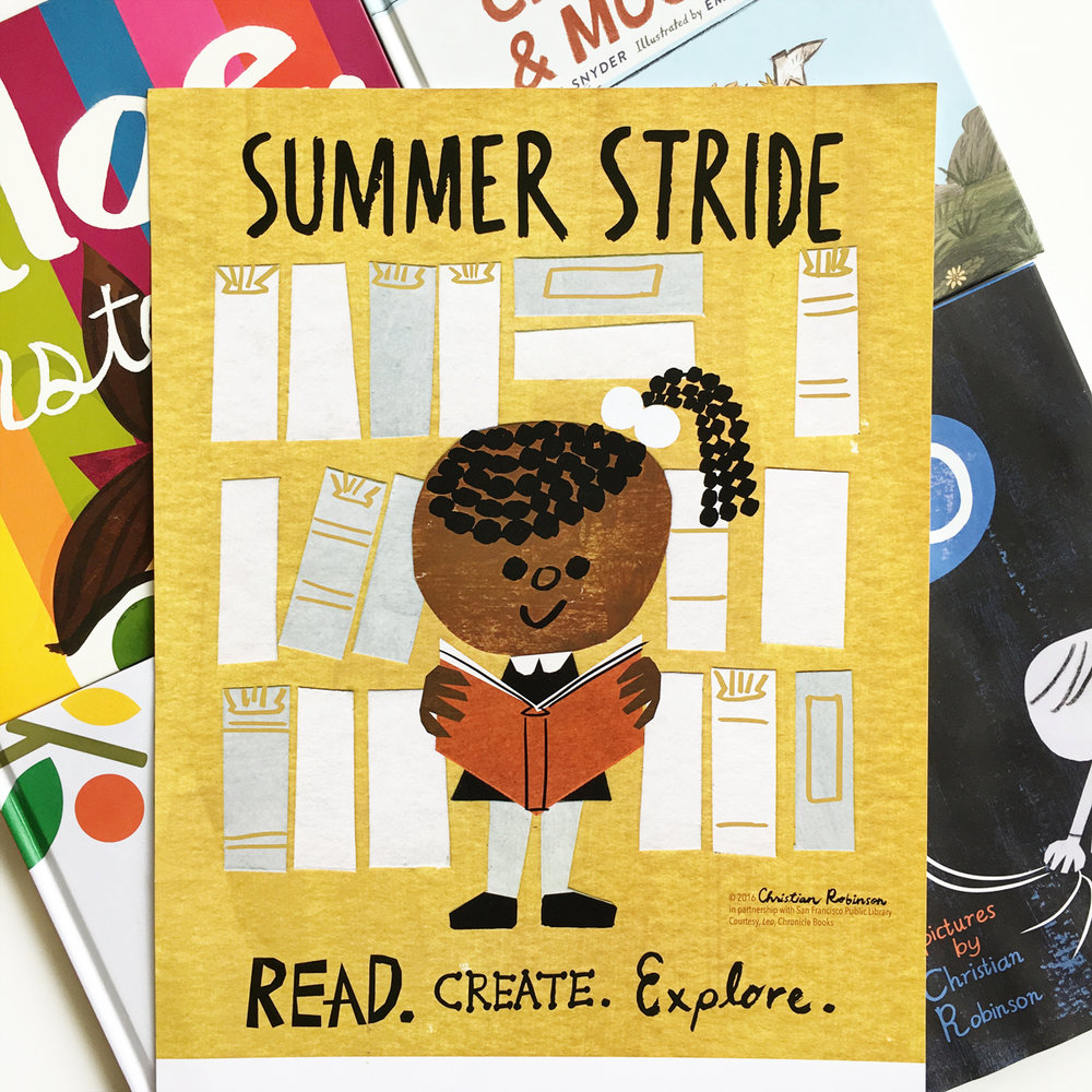 Summer Stride with SF Public Library | Art by Christian Robinson
