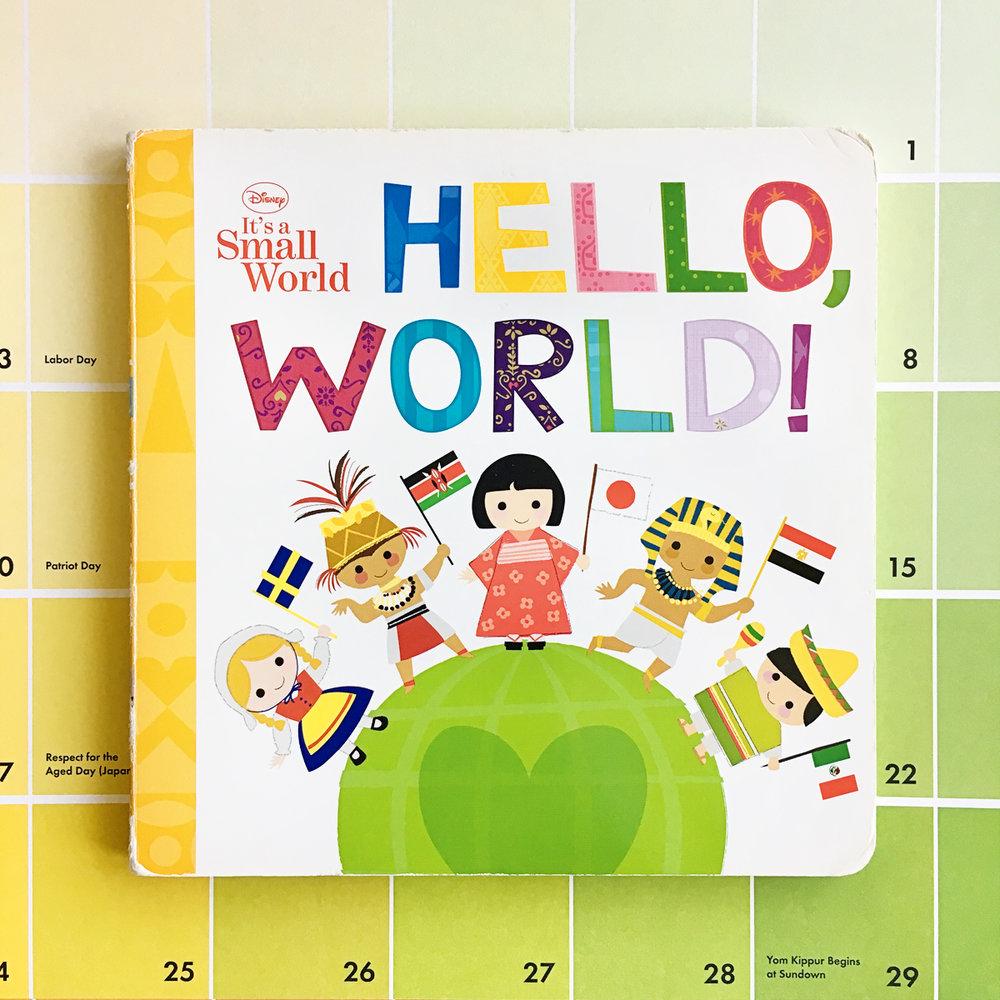 Disney It's A Small World Hello, World! | Books For Diversity