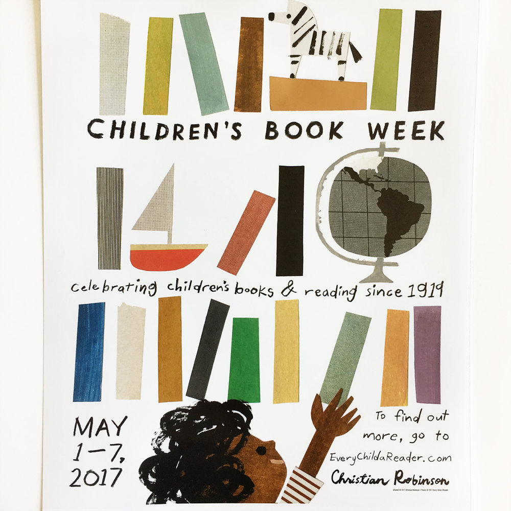 Children's Book Week 2017 Poster by Christian Robinson