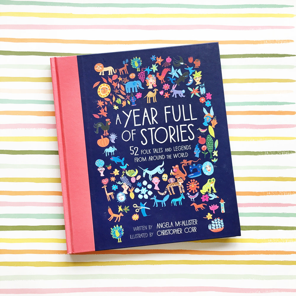 A Year Full of Stories: 52 Folk Tales and Legends from Around the World   Books For Diversity