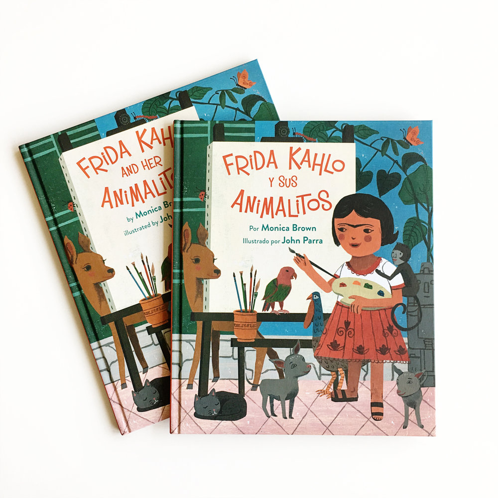 Frida Kahlo and Her Animalitos and Frida Kahlo y Sus Animalités | Books For Diversity