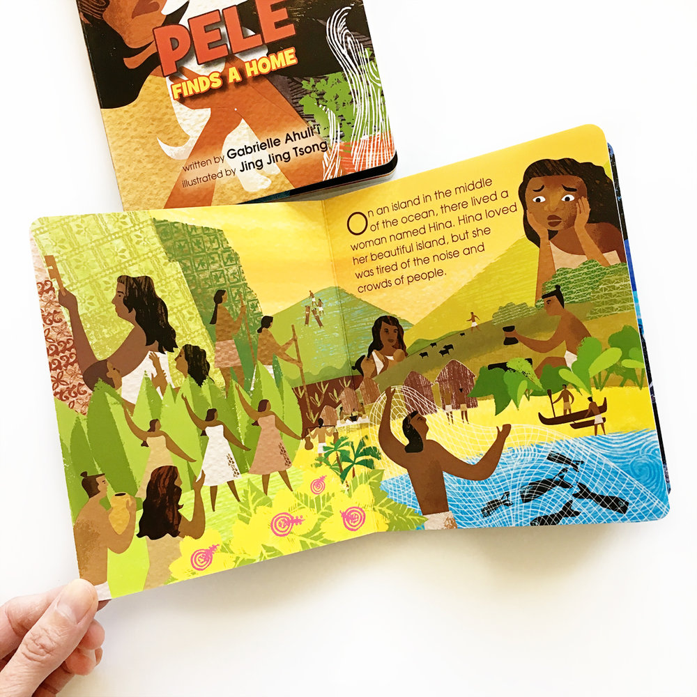 Pele Finds a Home and Hina | Books For Diversity