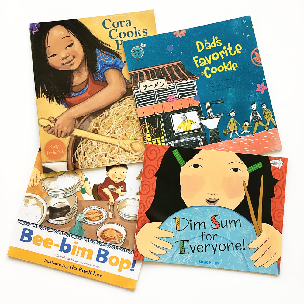 Favorite Books About Food | Books For Diversity