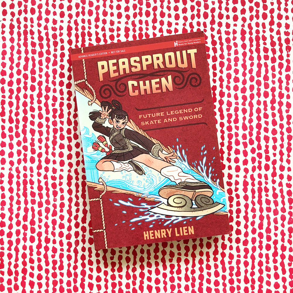 Peasprout Chen, Future Legend of Skate and Sword | Books For Diversity