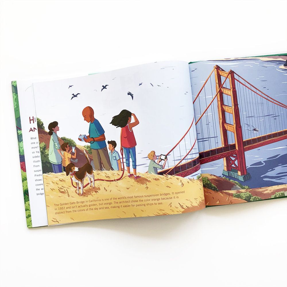 A Book of Bridges: Here To There and Me To You | Books For Diversity
