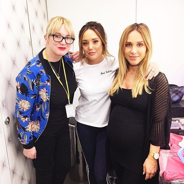 4ed575b7a Assisting Lyndsey Harrison at MTV for Just Tattoo Of Us - with presenter  Charlotte Crosby