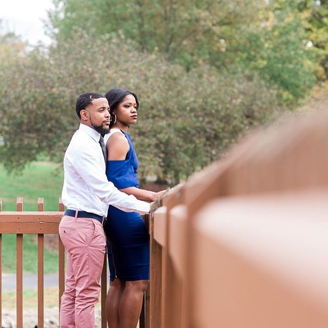 Shot this beautiful couple's wedding on Saturday. The day itself was perfect. Wait till the actual wedding photos drop!  #nikon #stlwedding #stlweddingphotographer #stlphotographer #blacklove #engagementphotos