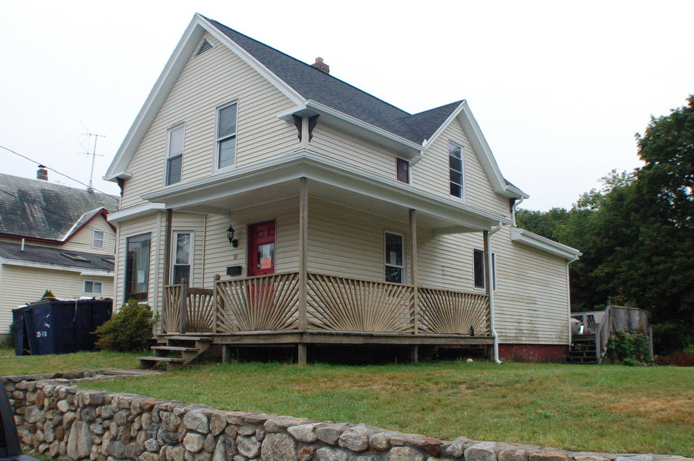 59 Leamy Street, Gardner. Receiver: WCHR. Financed by WCHR. Total Rehabilitation Budget: $122,435.