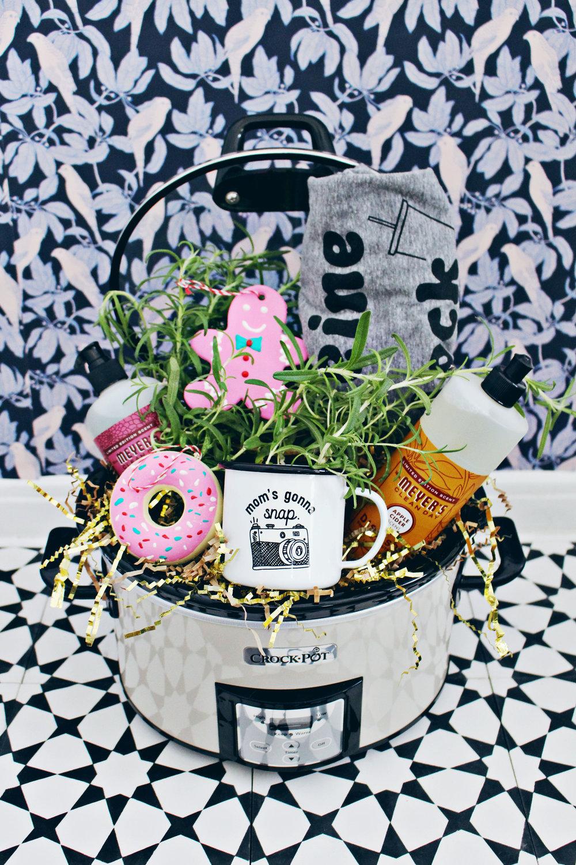 Gift Basket Idea @CasitaSupply Style