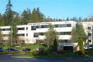 Investment: 3006 Northup Building - The 3006 Northup Bjuilding is a 40,000 square foot suburban office building along SR520. It was purchased by MDC in 1990 and has been an excellent investment.The building is stable and the major tenants, GE, Benton and Bray, CPAs and MDC have been tenants for more than 25 years. The building is always immaculately maintained and is the home office of McConkey Development Company.