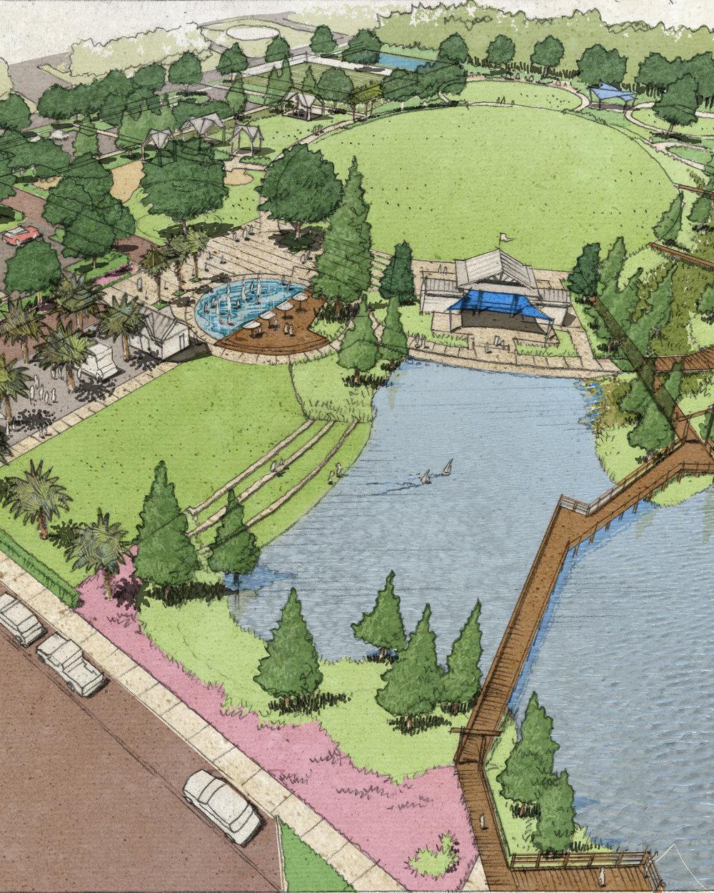 reiter park  Park Master Plan  longwood, florida