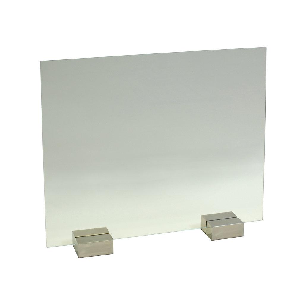 Glass Panel with Block Feet (Satin Nickel).jpg