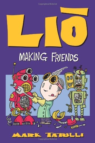 mark tatulli, book, lio, making friends
