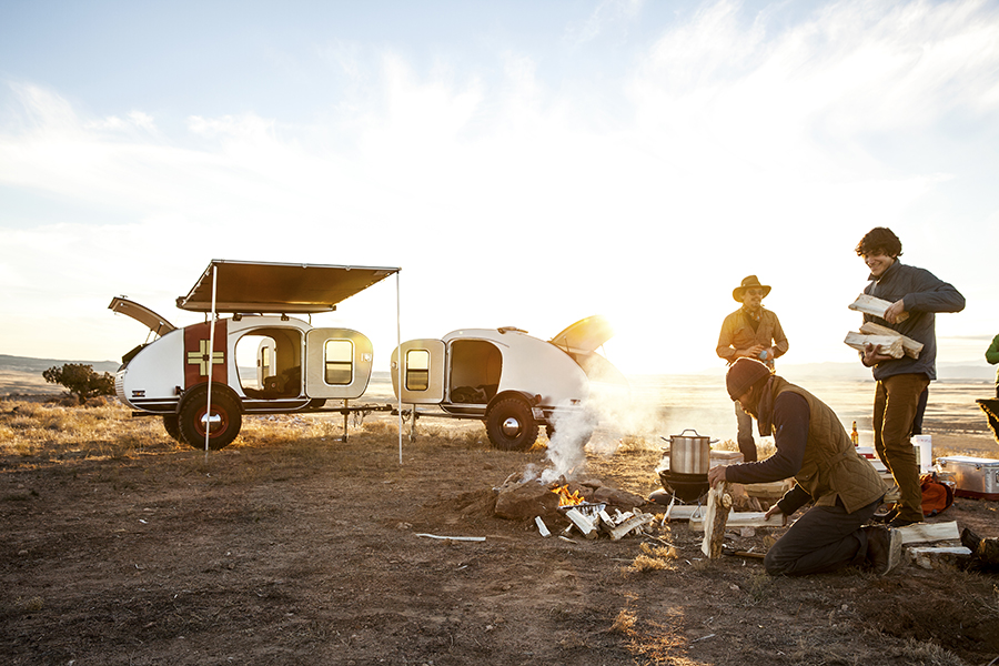 Vintage Overland makes vintage inspired, craftsmen built caravans in Grand Junction, Colorado.