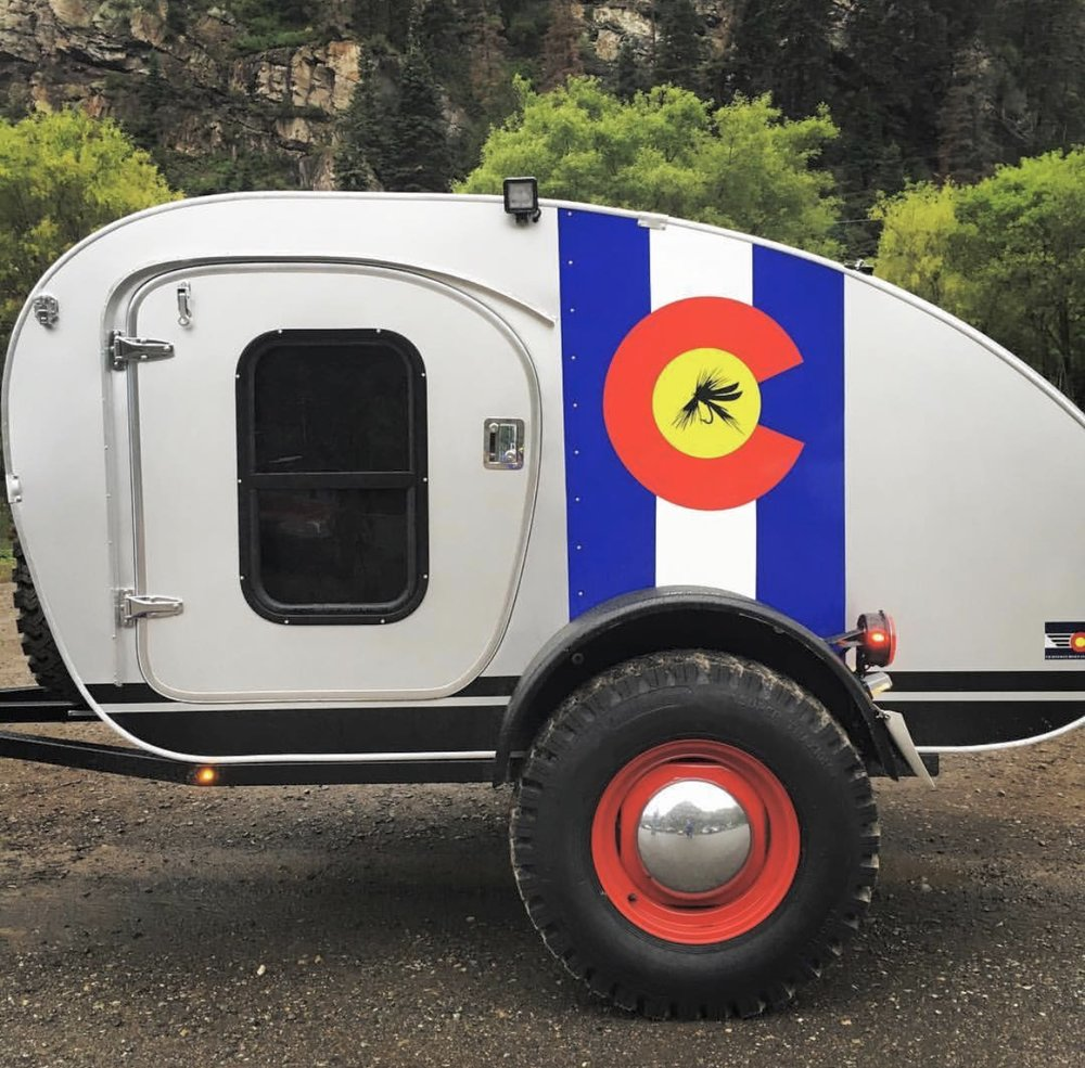 Vintage Overland - Vintage Overland @vintageoverlandYou feel cooler just by looking at these hand-crafted caravans (called teardrop trailers in a wimpier world). Next thing you know, you'll be digging out that leather jacket and old combat boots you wore in high school,ready to hit the rugged road.
