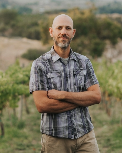 Steve Steese is co-founder, farmer, and vinter of The Storm Cellar, Vineyard + Winery, West Elks AVA, Colorado.