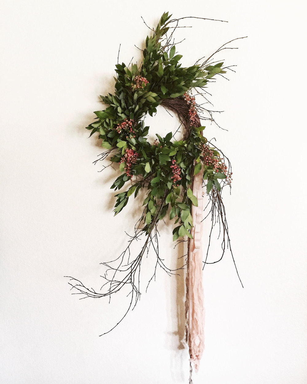 Fresh Holiday Wreaths, $80