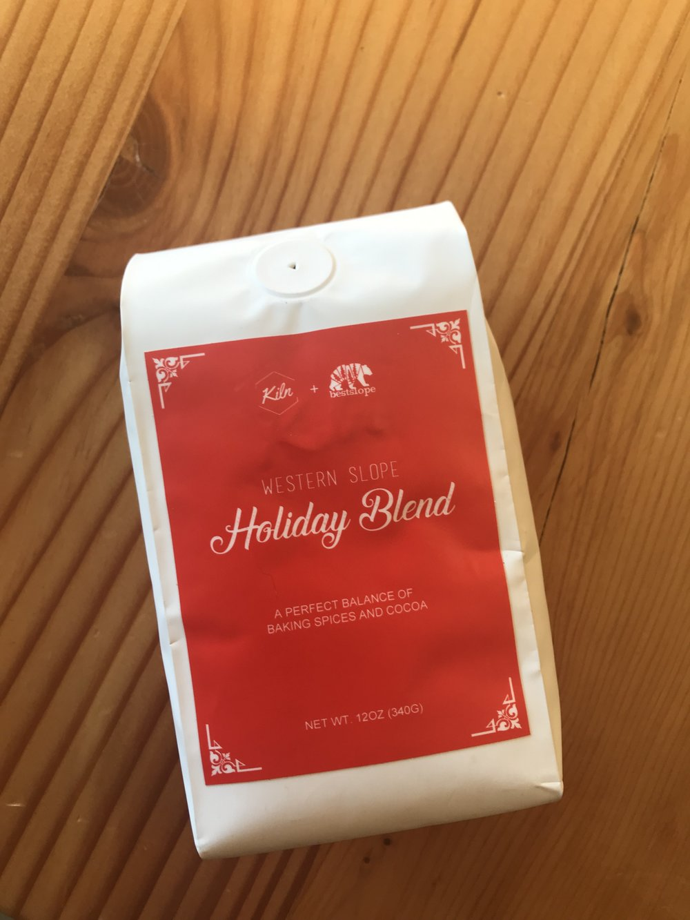 BestSlope + Kiln Holiday Blend Coffee, $17