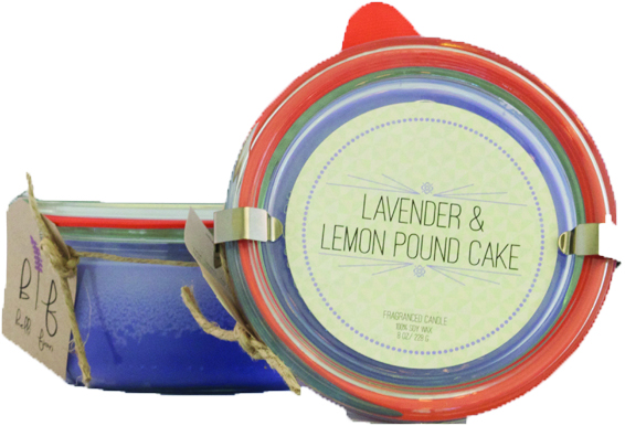 Belli Fiori Lavender Candle, $15
