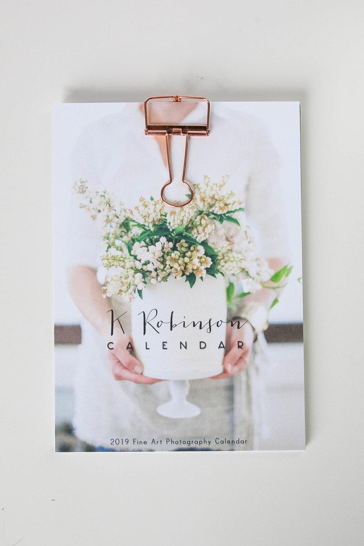 K. Robinson Desk Calendar, $25