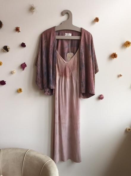 Handmade Silk Slip $120 + Kimono $90-$120